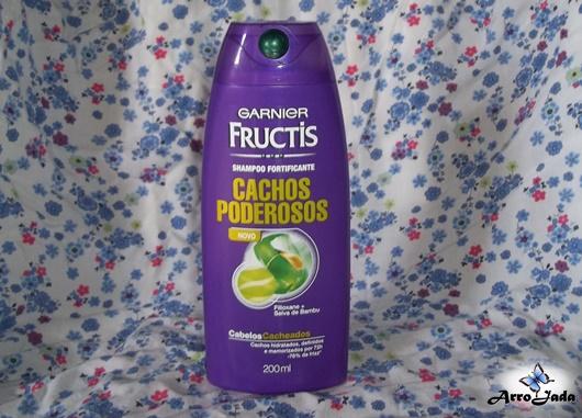 Cachos Poderosos Garnier Fructis Resenha