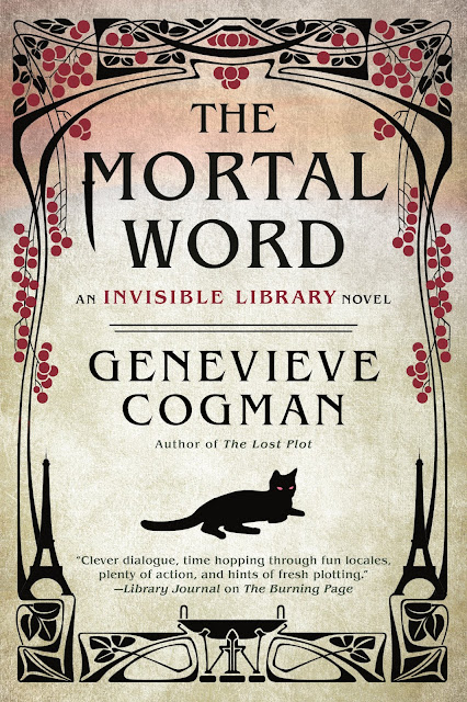 Giveaway, Invisible Library series, Genevieve Cogman, Bea's Book Nook