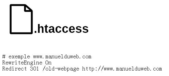 htaccess fichier