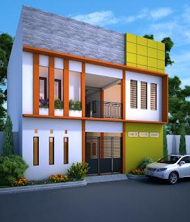 jasa desain rumah perspektif 3dmax minimalis modern dengan