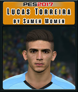 PES 2017 Faces Lucas Torreira by Sameh Momen