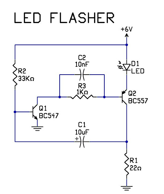 Eletrônica Free Circuits: Pisca pisca led.
