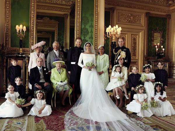 3 oficjalne zdjęcia ze ślubu księcia i księżnej Sussex!