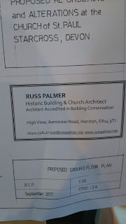 Proposals from Russ Palmer, Church architects