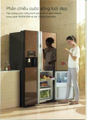 Trung tâm bảo hành tủ lạnh, máy giặt Hitachi tại Hải Phòng