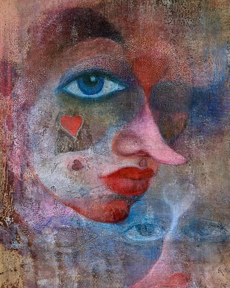 Beautiful Mixed Media Art by Maria Amiragova.