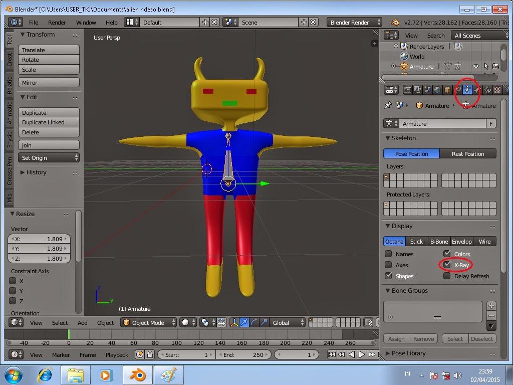 Cara Membuat Animasi Sederhana Di Blender 3d Tutorial Download