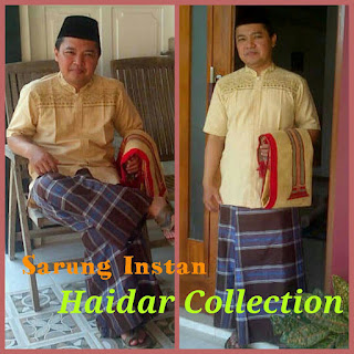 Sarung Celana Instan Dewasa Haidar Collection