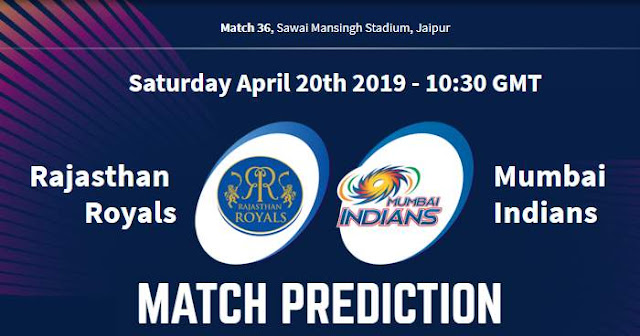 VIVO IPL 2019 Match 36 RR vs MI Match Prediction, Probable Playing XI: Who Will Win?