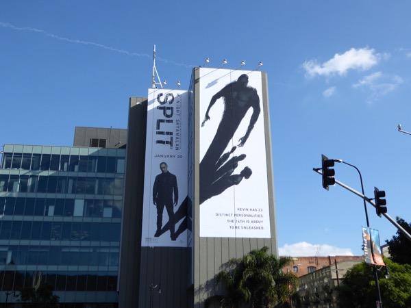 Giant Split movie billboard