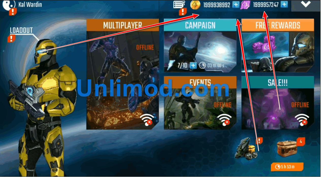 Download Game Nova Legacy Mod Apk Terbaru