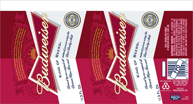 Learn about the new Budweiser Bow-tie Shaped Cans at if it's hip, it's here
