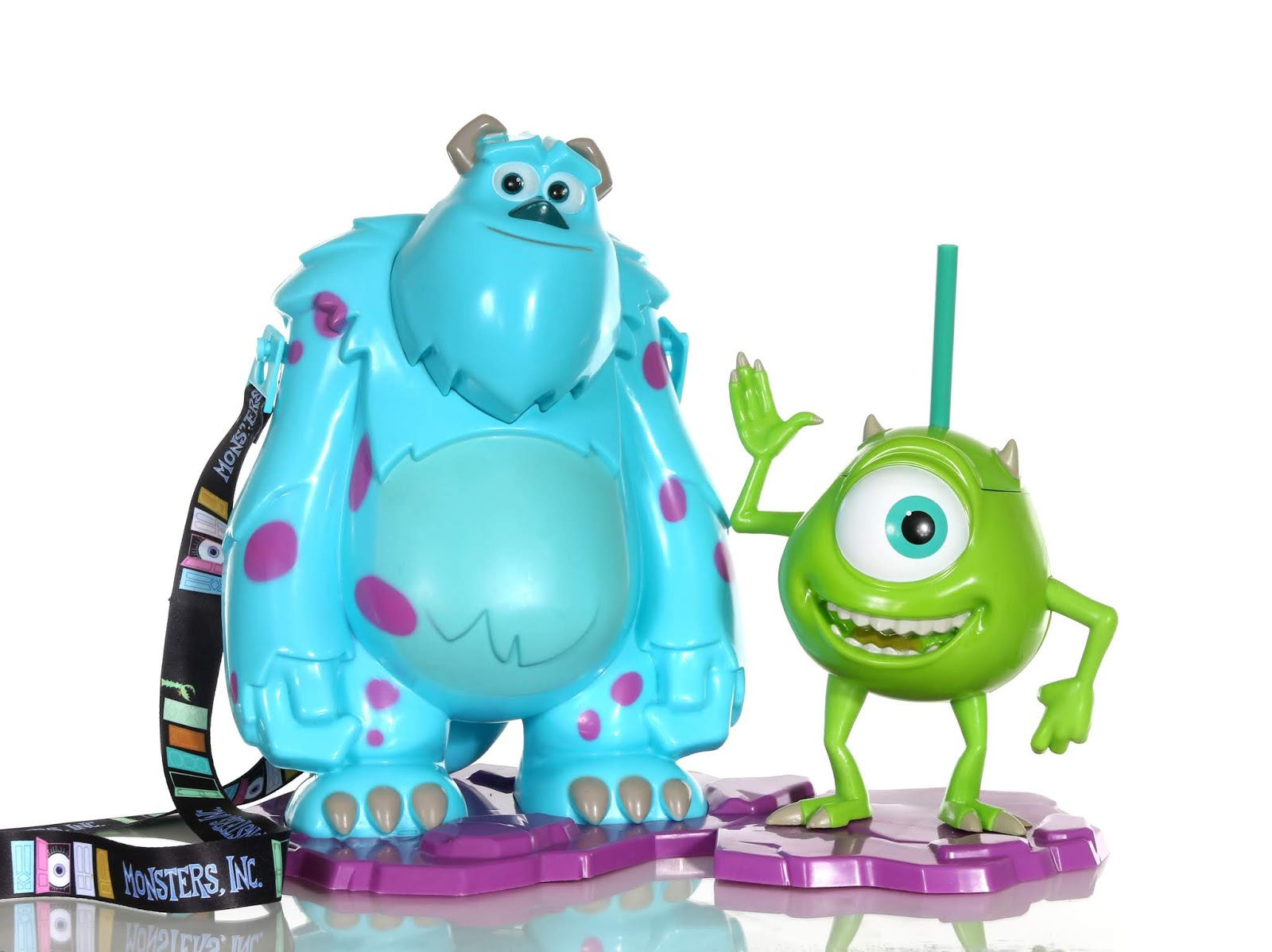 sulley and mike popcorn bucket sipper