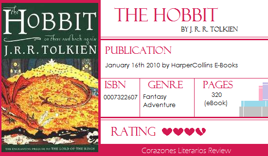 #BookReview: The Hobbit by J. R. R. Tolkien