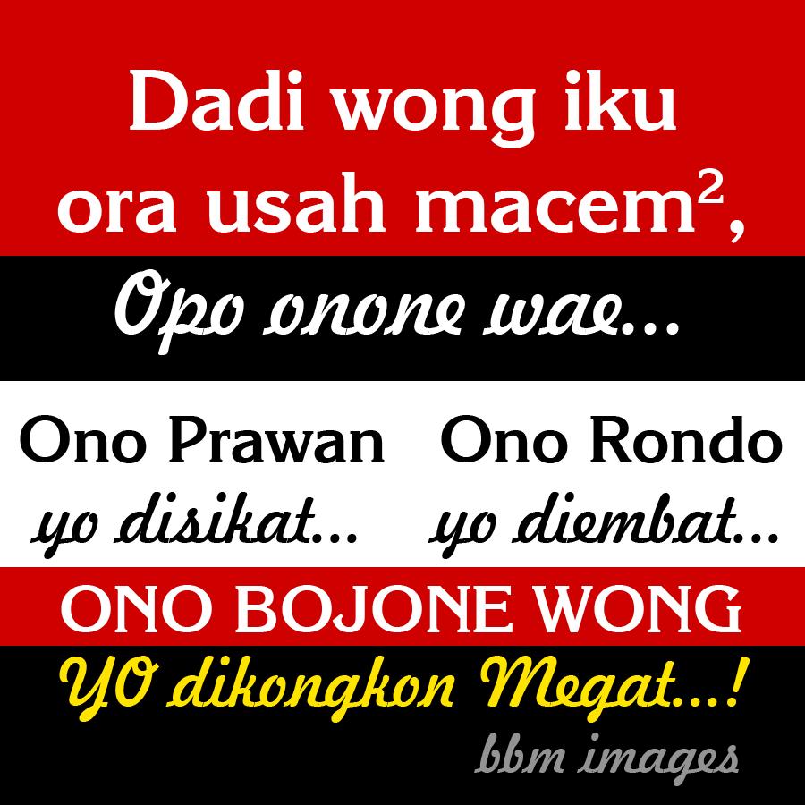 DP BBM Lucu Gokil Bahasa Jawa 2016 Paling Populer Kochie Frog