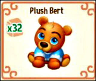 Craft Plush Bert for free in Royal Story