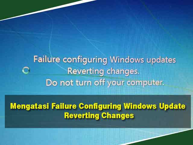 windows update reverting changes fix