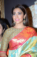 Shriya Saran Looks Stunning in Silk Saree at VRK Silk Showroom Launch Secundrabad ~  Exclusive 062.JPG