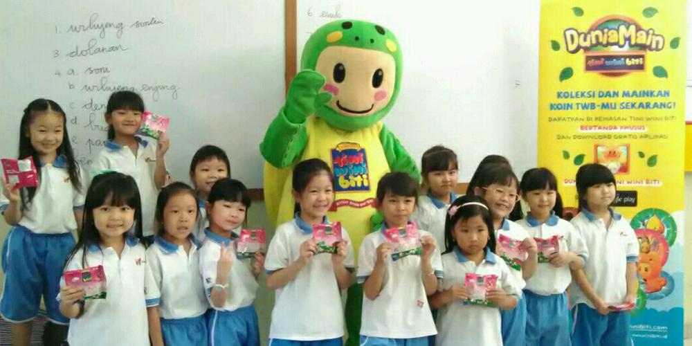 Dunia Main Anak Hadir di SD Kristen Kalam Kudus Surakarta