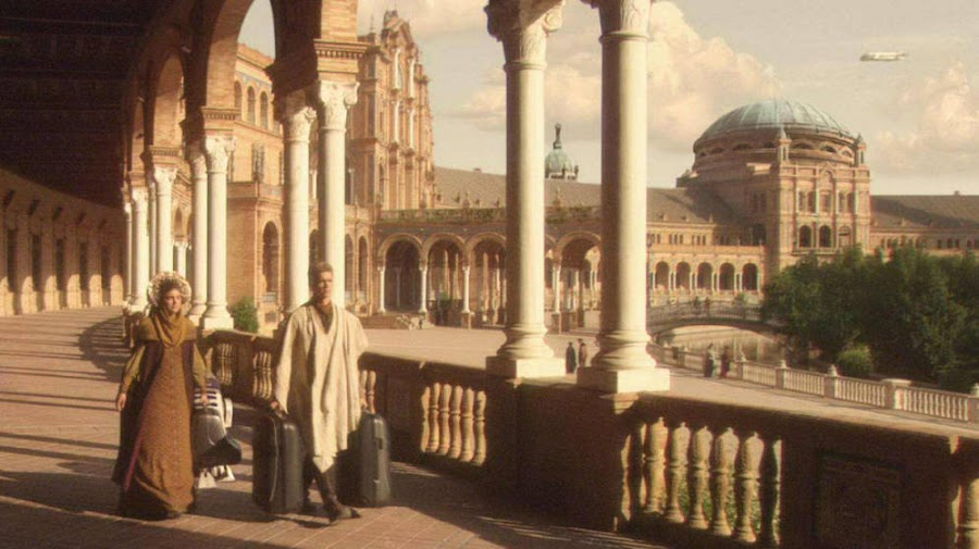 Star Wars, escenario de Sevilla