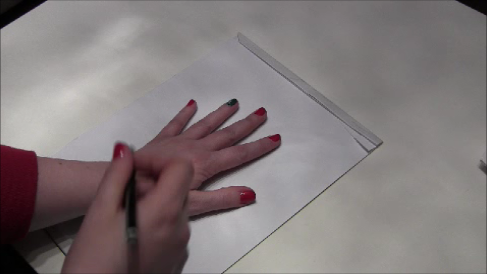 miss kuschi s welt 3d hand selber zeichnen diy f r kinder und erwachsene. Black Bedroom Furniture Sets. Home Design Ideas