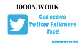 working free twitter followers