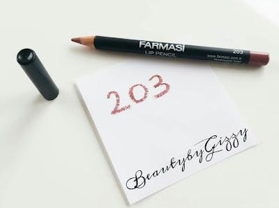 FARMASİ LIP PENCILS / FARMASİ DUDAK KALEMLERİM