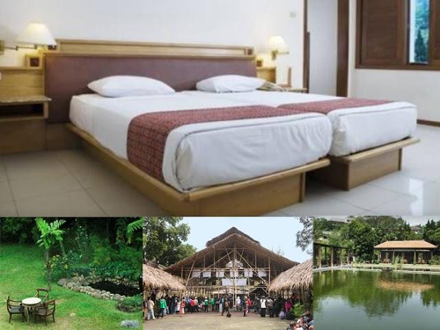 Kesejukan Alami The Cipaku Garden Hotel