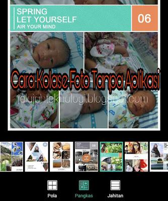 Mengkolase foto di Android