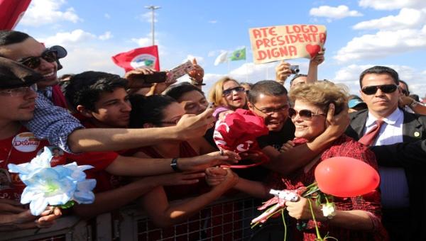 Dilma Rousseff reitera su compromiso con el pueblo de Brasil