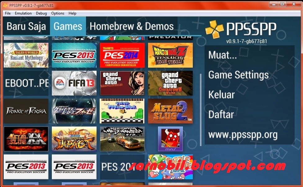Ppsspp gold iso games for android