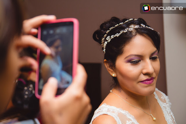 fotos de novia make up