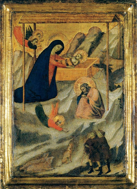 """La Natividad"", Bernardo Daddi, Florencia (h. 1280-1348)"