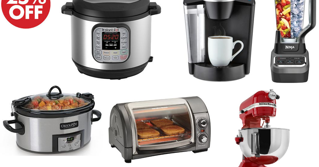 25 Off Kitchen Appliances On Target Today Only Instant Pot 6 Quart 1000w 7 In 1 Pressure
