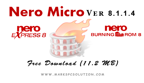 Nero Micro 8 with Express and Burning ROM