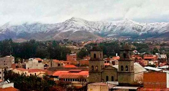 Temperaturas podrían descender hasta los cero grados en Tarija