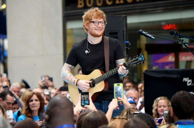 Ed Sheeran back on Twitter after brief disappearance