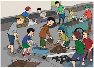 "Kegiatan Warga Masyarakat di Kampung ""Damai"" (Halaman 2)"