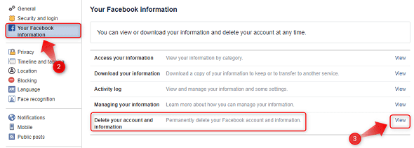 deactivate-fb-id