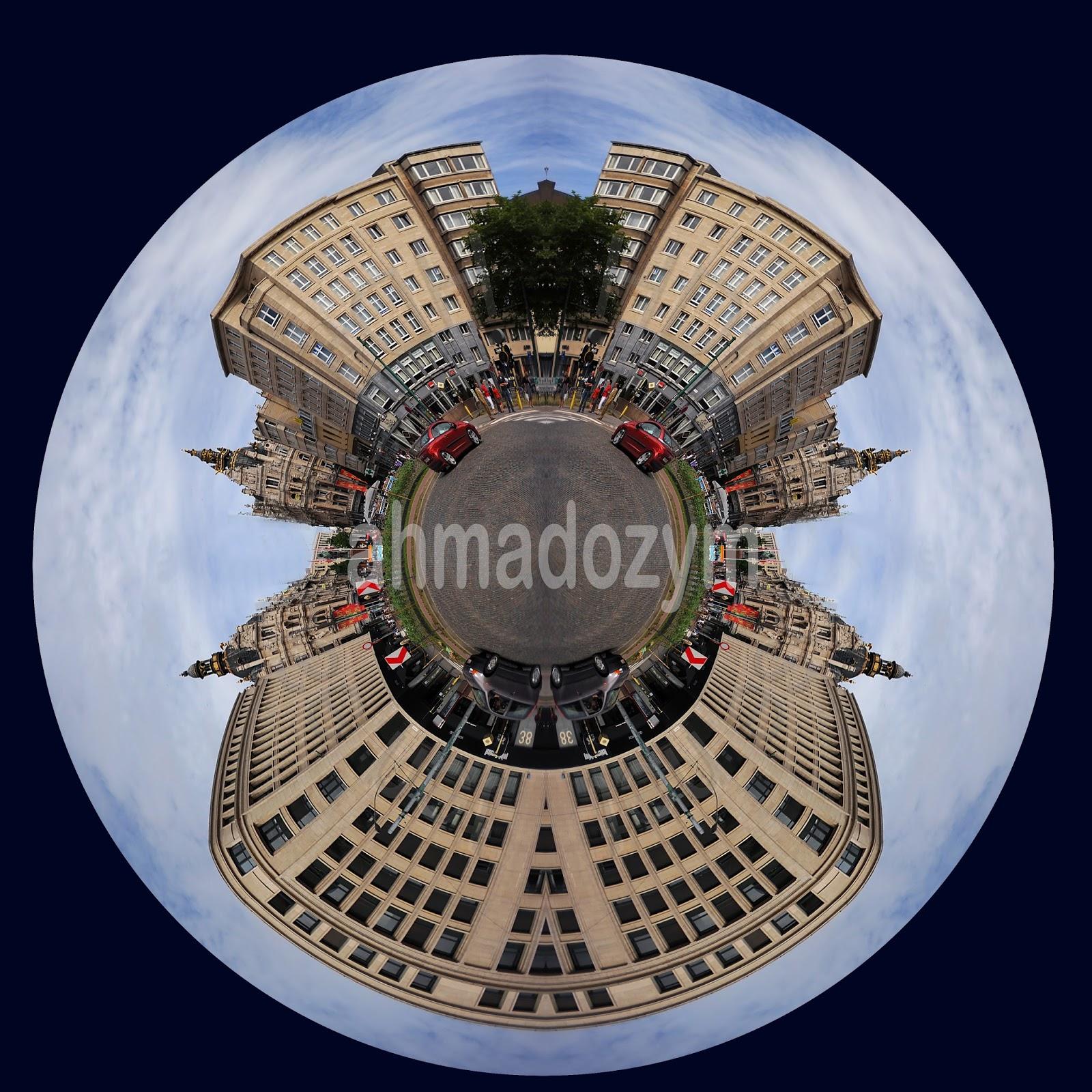 Cara Membuat Efek Tiny Planets Di Photoshop - Ahmad Ozy Muzaky