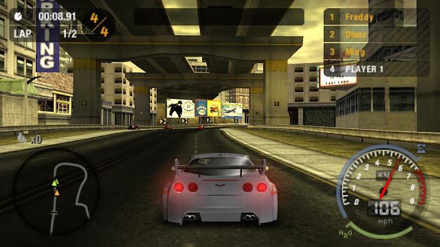 تحميل لعبة Need For Speed Most Wanted للأندرويد على PSP (اوفلاين)