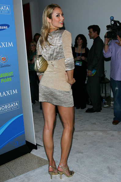 Stacy keibler leg muscles remarkable, very