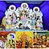 दुर्गापूजा की धूम, श्रद्धालुओं से पटा मंदिर: मूर्तियों और पंडाल की सजावट सम्मोहित करने वाली