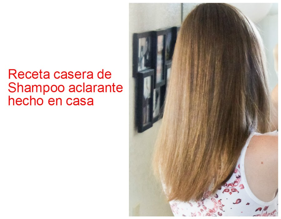Aclarante - Como aclarar el pelo en casa ...