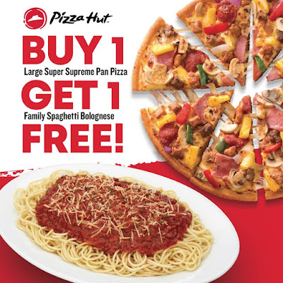 Pizza Hut Buy1 Get1 Delivery & Take Out Promo