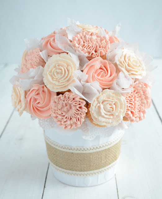 Mother's Day gift ideas, cupcake bouquet