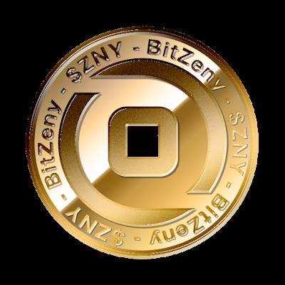 ビットゼニー(BitZeny)新ロゴのフリー素材(金貨ver)