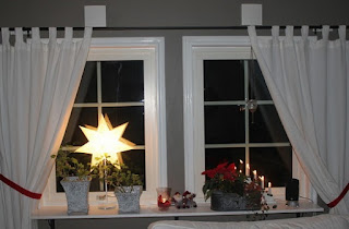 Decoración ventanas navideñas