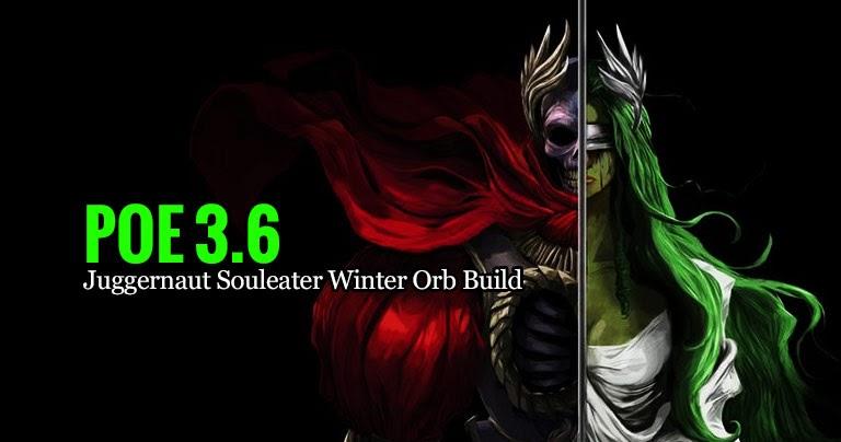 poe 3 6 juggernaut souleater winter orb build. Black Bedroom Furniture Sets. Home Design Ideas