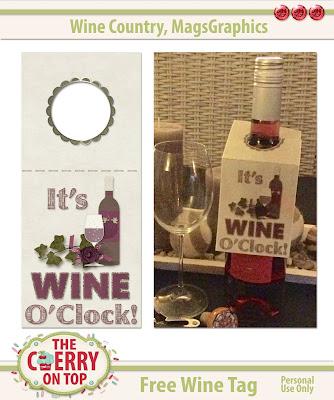 Free Wine Tag